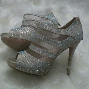 Cathy Jean diamond heels